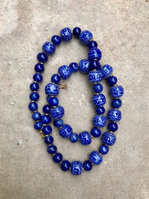 Angkor Federal Blue Necklace
