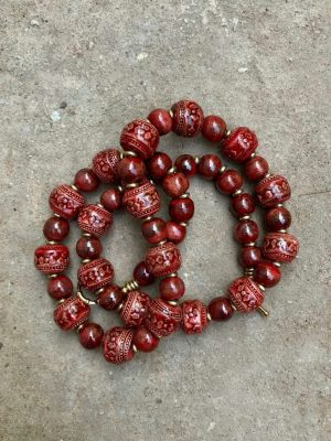 Angkor Ladybird Bronze Necklace