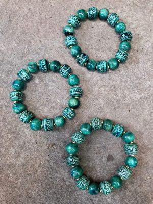Angkor Bracelet Tahitian Green
