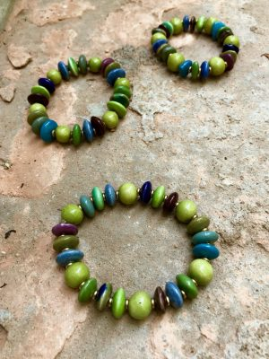 Arizona Summer Green Bracelet