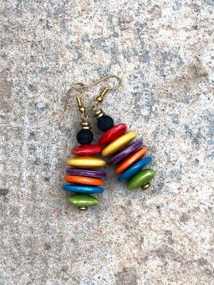 Rio Earrings Multi Colour