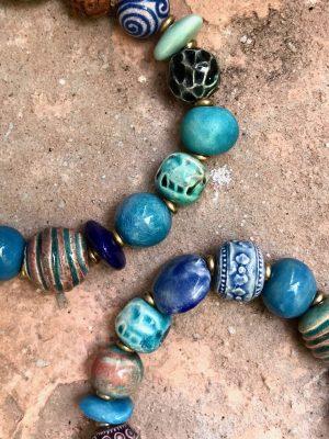 Rudraksha Bracelet The Blues