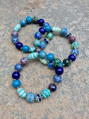 Sedona Ceramic Bracelet The Blues