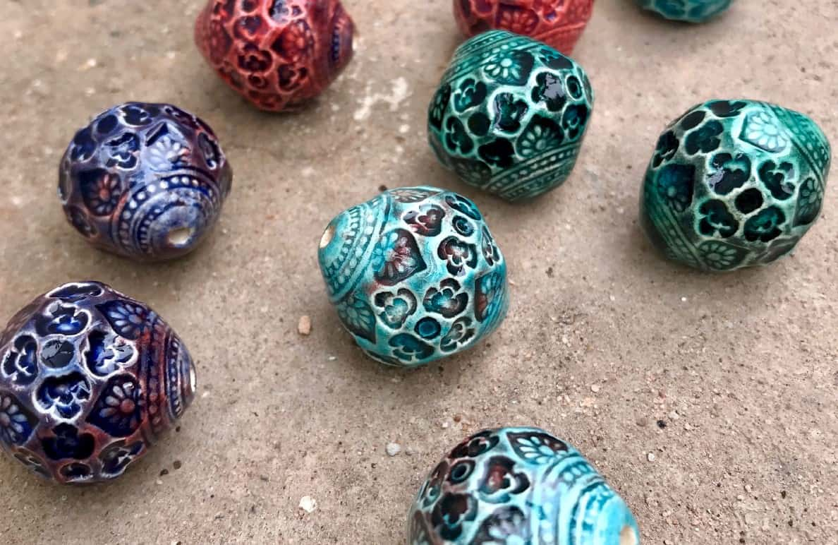 The Craft of Ceramic Bead Making
