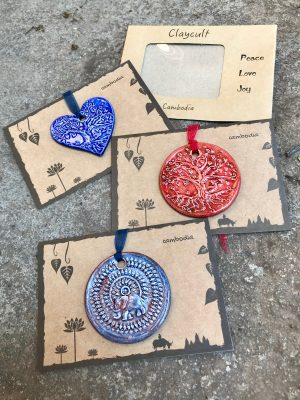 Handmade Ceramic Gift Cards – Set of Three